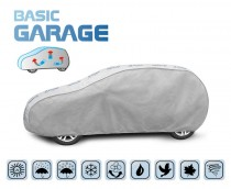 PLACHTA NA AUTO BASIC GARAGE hatchback/kombi, D. 405-430 cm