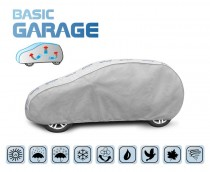 PLACHTA NA AUTO BASIC GARAGE hatchback, D. 355-380 cm