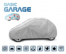 PLACHTA NA AUTO BASIC GARAGE hatchback, D. 335-355 cm