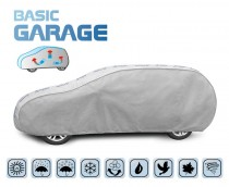PLACHTA NA AUTO BASIC GARAGE hatchback/kombi, D. 455-485 cm
